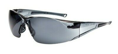 £9.70 • Buy Bolle Rush Smoke Safety Glasses - Panoramic View, Non Slip, Anti Scratch & Fog