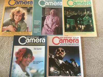 You And Your Camera Magazine - 5 Issues - See Photos - Charity Sale (2nd Set) • 9.99£