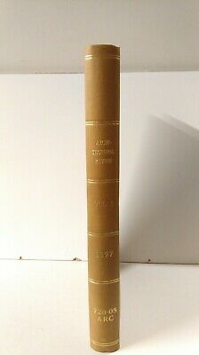 £200 • Buy The Architectural Review: Bound Set: Illustrated Journal: Vol 1 Nov-May 1897