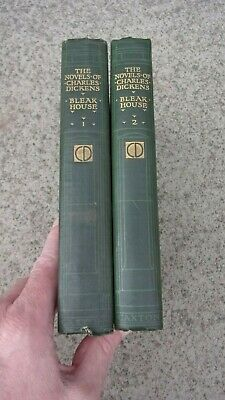 £5 • Buy BLEAK HOUSE By CHARLES DICKENS. 2 VOLUMES - CAXTON PUBLISHING - COLOURED PLATES