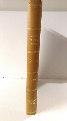 £100 • Buy The Architectural Review: Bound Set: Illustrated Journal: Vol 106 July1949