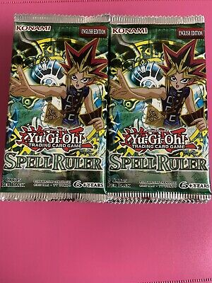 Yugioh Spell Ruler/Magic Ruler Booster Packs X2  New Sealed VINTAGE 000 MRL/SRL • 32.99£