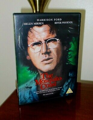 The Mosquito Coast Harrison Ford River Phoenix Helen Mirren Martha Plimpton R2 • 7.99£
