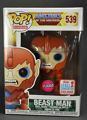 $19.99 • Buy Beast Man #539 - Flocked - Funko Pop - New - Masters Of The Universe