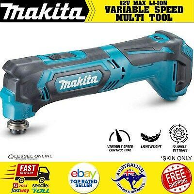 AU140.61 • Buy Makita TM30DZ 12V Max CXT Compact Cordless Multi Tool Variable Speed - Skin Only