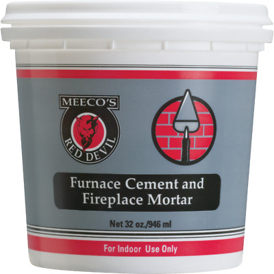Meeco's Red Devil 1 Qt. Gray Furnace Cement & Fireplace Mortar 1354  - 1 Each • 6.56£