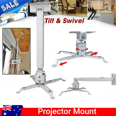 AU22.69 • Buy Universal LED Projector Ceiling Wall 4arms Mount Bracket Projector Extendable AU