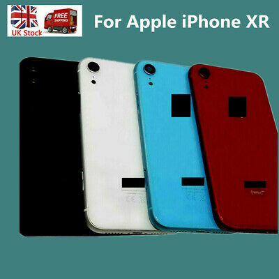 Metal Frame Back Chassis Housing Rear Glass Cover Replacement For IPhone XR 6.1  • 17.99£