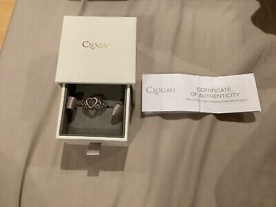 Clogau Women Jewellery Silver 9Ct Rose Gold Welsh Royalty Ring  • 50£