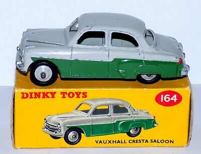 Dinky Toys No.164 Vauxhall Cresta Saloon Car In Original Box (1957-60). • 39.99£