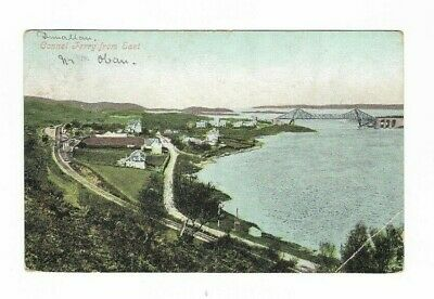 Connel Ferry From East Valentines Series Postmark 1905 Train Track And Bridge  • 2£