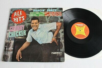 CHUBBY CHECKER ‎– All The Hits (For Your Dancin' Party) 1962 Parkway P 7014 US • 1.49£