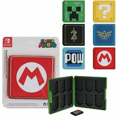 £4.98 • Buy Portable Game Card Case Cover Storage Box Holder Organizer For Nintendo Switch
