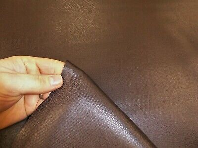 £7.99 • Buy BROWN - SNAKESKIN STYLE Faux Leather / Vinyl / Leatherette Upholstery Fabric
