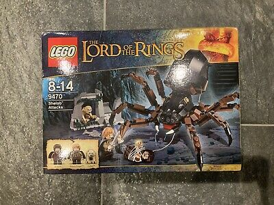 LEGO The Lord Of The Rings Shelob Attacks (9470) • 80£