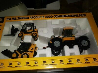 JCB Limited Edition Millenium Special Die Cast Models • 50£