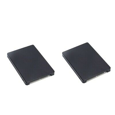 2 Pack M.2 NGFF SATA SSD To 2.5 Inch IDE 44PIN Converter Adapter With Case • 13.07£