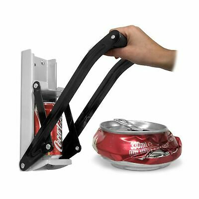 £8.97 • Buy 12Oz 350ML Tin Can Crusher Wall Mounted Beer Bottle Opener Recycling Tool