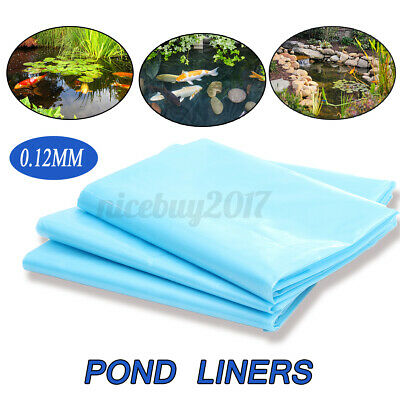 4.5x3M Fish Pond Liner 40 Year Guarantee HDPE Garden Pond Pool Liners Pond UK • 14.10£