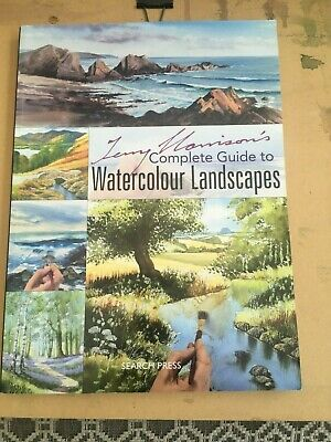 Terry Harrison's Complete Guide To  Watercolour Landscapes  • 10£