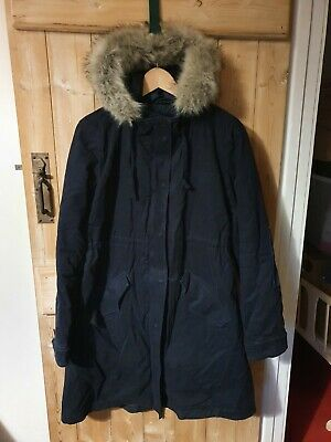 Gap Maternity, Navy Parka, Size Medium, VGC. • 20£