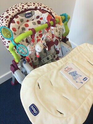 Chicco Polly Progress 5 (5 In 1) Highchair • 95£