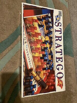 Stratego Military Strategy Board Game LAttaue Parker 1987 Complete VGC Rare  • 5£