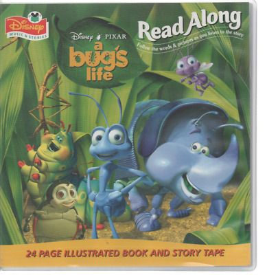 Disney Read Along Book & Tape A Bug's Life • 7.50£