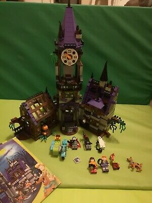 LEGO Scooby-Doo Mystery Mansion 75904 - 100% Complete With All Figures & Guides • 110£