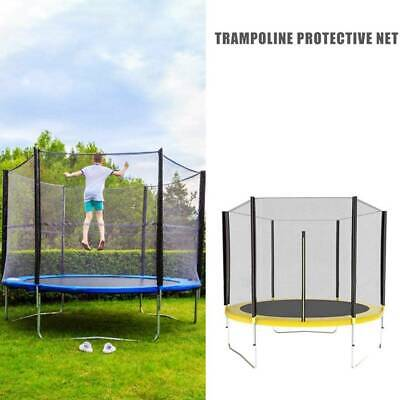 AU63.99 • Buy 6 Ft Round Trampoline With Safety Net With Poles