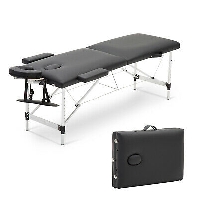 Lightweight Portable Folding Massage Table Salon Tattoo Beauty Therapy Couch Bed • 15£
