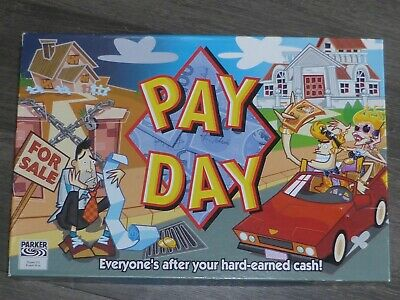 Parker Hasbro 2002 Pay Day Payday Game, Complete • 12.50£