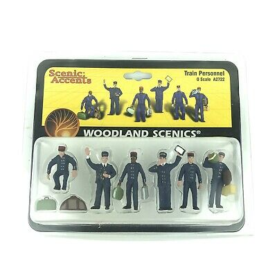 $19.89 • Buy Scenic Accents Woodland Scenics 0 Scale 1:48 Train Personnel People A2722