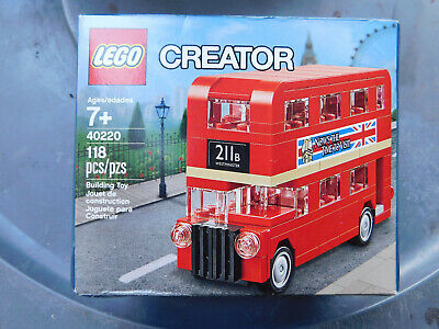 $ CDN20.12 • Buy LEGO 40220 Creator Double Decker London Bus New Sealed