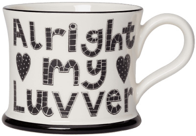£17.25 • Buy Alright My Luvver Mug By Moorland Pottery, Kernow Ware