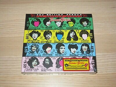 The Rolling Stones 2 CD - Some Girls / 2011 Eu Press IN New Sealed • 22.09£