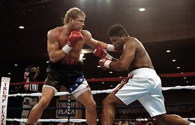 £4.55 • Buy OLD BOXING PHOTO Tommy Morrison Lands A Punch Against Ray Mercer