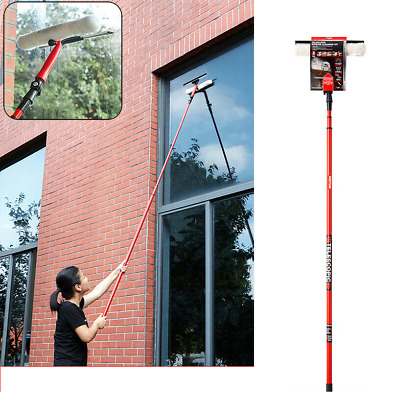 £13.49 • Buy 3.5m Telescopic Conservatory Window Glass Cleaning Cleaner Kit With Squeegee New