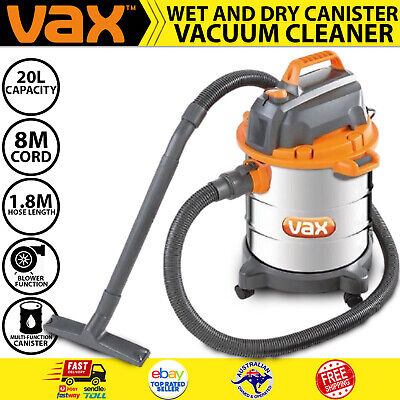 AU107.44 • Buy Wet Dry Vacuum Cleaner Industrial Workshop 20L Shop Commercial 1250W Heavy Duty