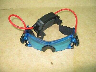 Spy Gear Night Vision Goggles Glasses 2002 Wild Planet Toys Blue Light • 9.50£