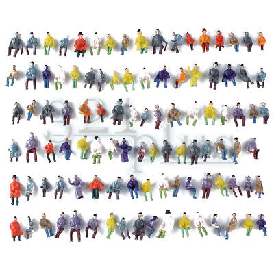 $9.85 • Buy 100 Pcs Only Sitting HO Figures People 1:87 Scale Human People 15mm H0 Miniature