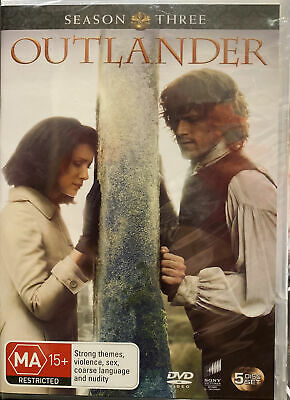 AU38.25 • Buy Outlander: Season 3 DVD NEW & Sealed  (Region 2,4,5) Fantastic Tv Series
