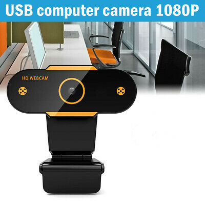 AU21.99 • Buy HD Gaming Webcam 1080P With Microphone USB 2.0 60 Fps PC Streaming Web Camera