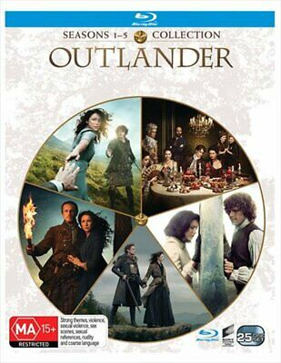 AU176.53 • Buy Outlander - Season 1-5 Boxset Blu-ray