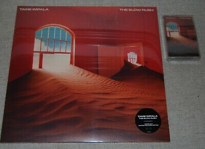 Tame Impala ‎– The Slow Rush 2LP GREEN VINYL NEW! + Cassette. • 35£