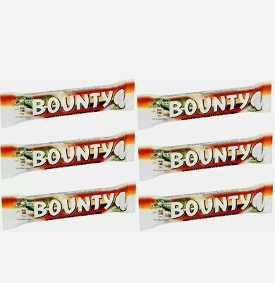 Bounty Coconut Dark Chocolate Twin Bar X6 57g Bar  • 6.99£