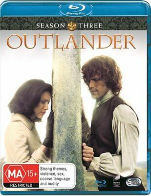 AU26.74 • Buy Outlander - Season 3 Blu-ray