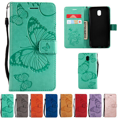 AU14.68 • Buy Pattern Magnetic Leather Card Case Cover For Samsung Galaxy J2 J3 J5 J7 Pro 2017