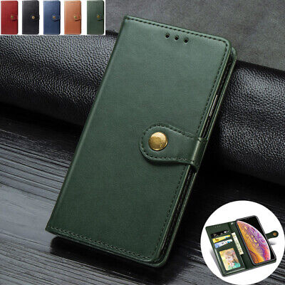 AU14.89 • Buy Retro Leather Luxury Wallet Card Flip Case Cover For IPhone 6S 7 8Plus XS Max XR