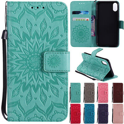 AU14.68 • Buy Leather Magnetic Flip Stand Card Wallet Case Cover For IPhone 11 12 Pro Max 7 8+